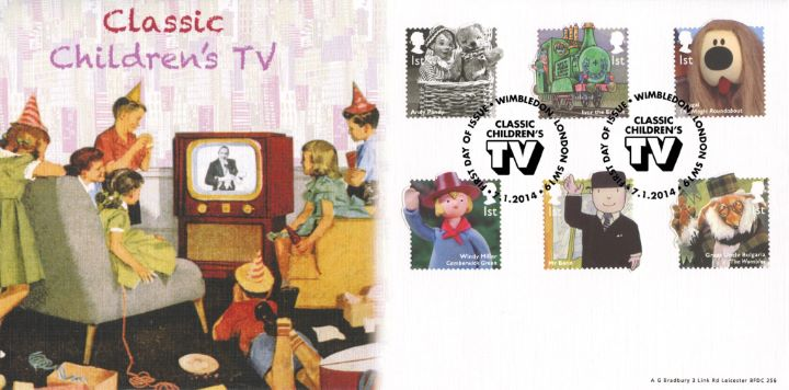 Classic Children's TV, Children watching television