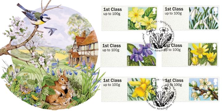 British Flora: Series No.1, Spring Blooms
