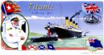 Titanic - 90th Anniversary, White Star Line Autographed By: Millvina Dean (was the last remaining survivor of the sinking of RMS Titanic)