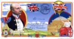 Flags & Ensigns: Miniature Sheet, Edward Elgar Autographed By: The Very Reverend Peter Marshall (Dean of Worcester)