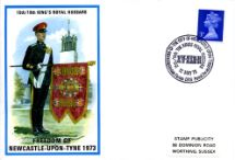 12.05.1973 King's Royal Hussars Freedom of Newcastle-upon-Tyne Stamp Publicity, British Military Uniforms No.32