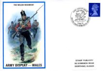 11.05.1974 The Welsh Regiment Army Display - Wales Stamp Publicity, British Military Uniforms No.49
