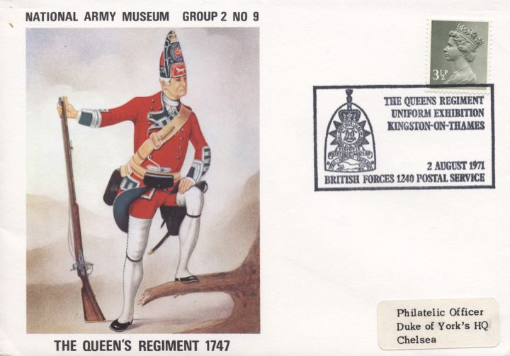 National Army Museum, The Queens Regiment 1747