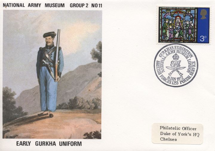 National Army Museum, Early Gurkha Uniform