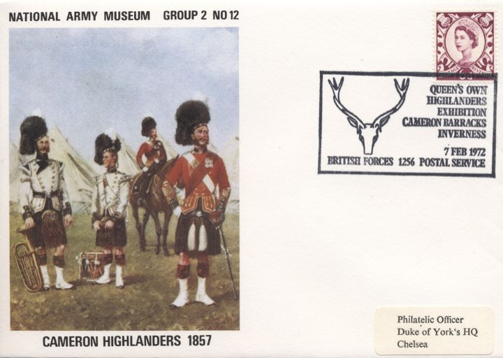 National Army Museum, Cameron Highlanders 1857