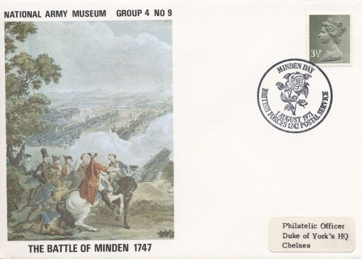 National Army Museum, The Battle of Minden 1747