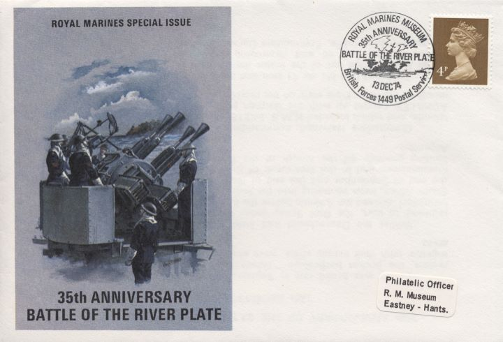 Royal Marines Museum, 35th Anniversary Battle of the River Plate