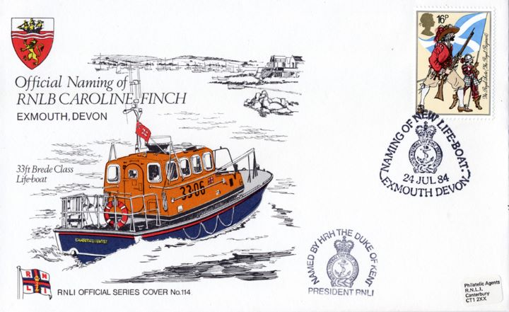 33ft Brede Class Lifeboat, RNLB Caroline Finch
