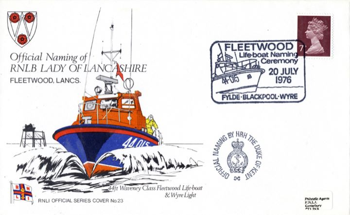 44ft Waveney Class Fleetwood Lifeboat & Wyre Light, RNLB Lady of Lancashire