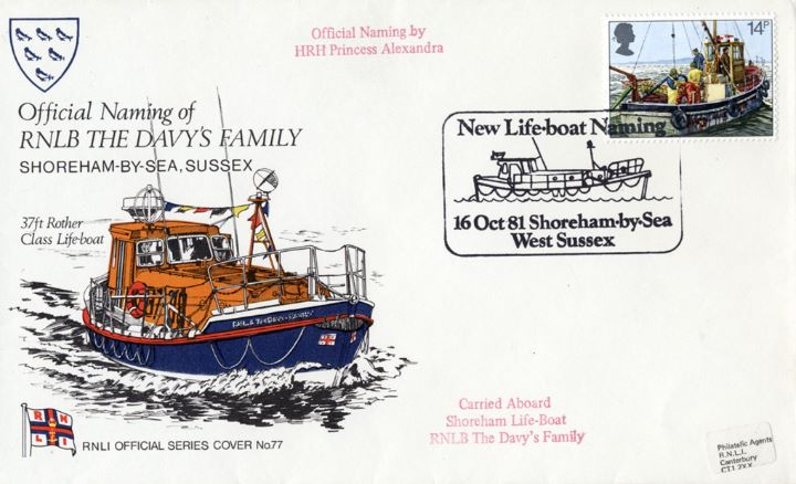 37ft Rother Class Lifeboat, RNLB The Davy's Family