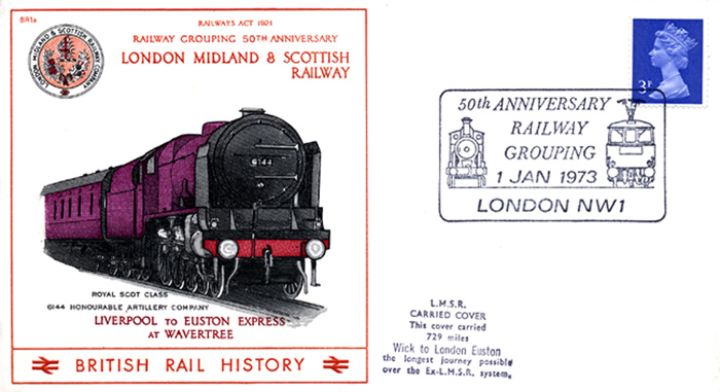 London Midland & Scottish Railway, 50th Anniversary of Railway Grouping