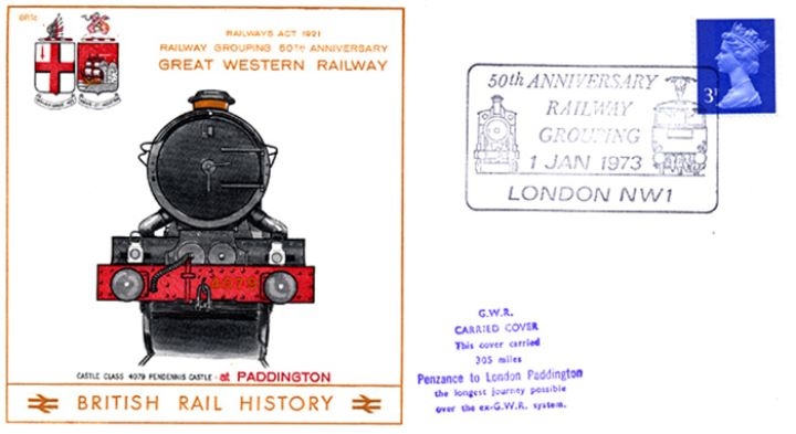 Great Western Railway, 50th Anniversary of Railway Grouping