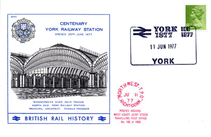 York Railway Station, Centenary