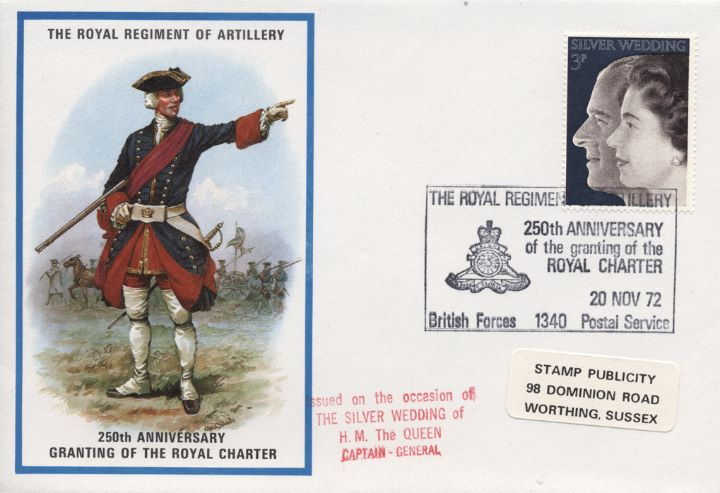 The Royal Regiment of Artillery, 250th Anniversary of The Royal Charter