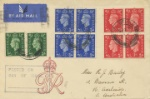 KGVI: 1/2d, 1d, 2 1/2d First Stamps of King George VI