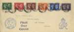 Postage Stamp Centenary King George VI Royal Cypher