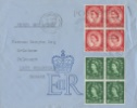 Wildings: 1 1/2d, 2 1/2d The first UK stamps to feature H M the Queen