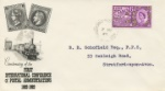 Paris Postal Conference French stamps & Train Producer: BPA & PTS