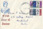 Forth Road Bridge Plain cover with rubber stamp cacher
