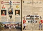 18.06.2015 Battle of Waterloo: Miniature Sheet Wellington, Blucher and Bonaparte Bradbury, Commemorative Stamp Card No.7