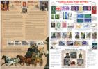 18.02.2016 Self Adhesive: Penny Red Anniversary: 6 x 1st History of the Royal Mail Bradbury, Commemorative Stamp Card No.20