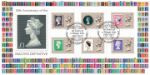 Machin Design Icon: Miniature Sheet Full range of Standard Machins 1967-2017