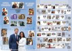 Royal Wedding: Miniature Sheet Harry and Meghan and past Royal Weddings Producer: Bradbury Series: Commemorative Stamp Card (38)