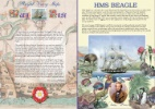 Royal Navy Ships Mary Rose & HMS Beagle Producer: Bradbury Series: Commemorative Stamp Card (47)