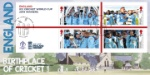 Cricket World Cup: Miniature Sheet England - Birthplace of Cricket
