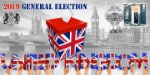 General Election Ballot Box and Houses of Parliament