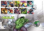 Marvel The Hulk Producer: Royal Mint Series: Royal Mint/Royal Mail joint issue (144)