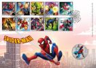 Marvel Spider Man Producer: Royal Mint Series: Royal Mint/Royal Mail joint issue (145)