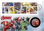 Marvel: Miniature Sheet The End Game Producer: Royal Mint Series: Royal Mint/Royal Mail joint issue (146)