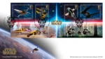 Star Wars: Miniature Sheet A Galaxy of Vehicles