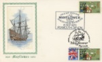 Mayflower Double dated Anniversaries 350th and 400th Producer: Textiles/Philately