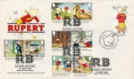 Rupert Bear Guernsey Cover Double Dated