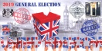 Election and Brexit Cover No.2 Double Dated Cover Producer: Bradbury Series: BFDC (625)