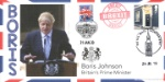 Boris Johnson and Brexit Double Dated Cover Producer: Bradbury Series: BFDC (607)
