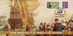 The Pilgrim Fathers Set Sail to America