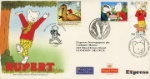 Rupert Bear Rupert Treble Postmarked