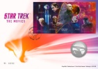 Star Trek: Miniature Sheet Star Trek Movies Producer: Royal Mint Series: Royal Mint/Royal Mail joint issue (161)