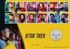 Star Trek Captains and Crew Producer: Royal Mint Series: Royal Mint/Royal Mail joint issue (160)