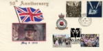 VE Day and VJ Day Churchill 50th Anniversary