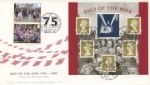 VE Day Fabulous Double Dated Cover 60th and 75th