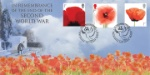 VE Day War Graves and Poppies