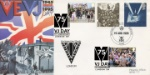 VJ Day VE Day Double Dated Wecome Home