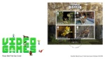 Video Games: Miniature Sheet Video Games