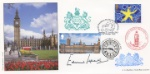 Palace of Westminster Edward Heath Signed