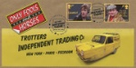 Only Fools and Horses: Generic Sheet Robin Reliant with  Rodney and Del Boy Producer: Bradbury Series: BFDC (739)