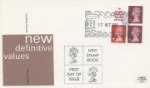 Vending: New Design: 10p 'London 1980' New Definitives